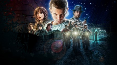 The latest hit series by Netflix, Stranger Things ★★★★★