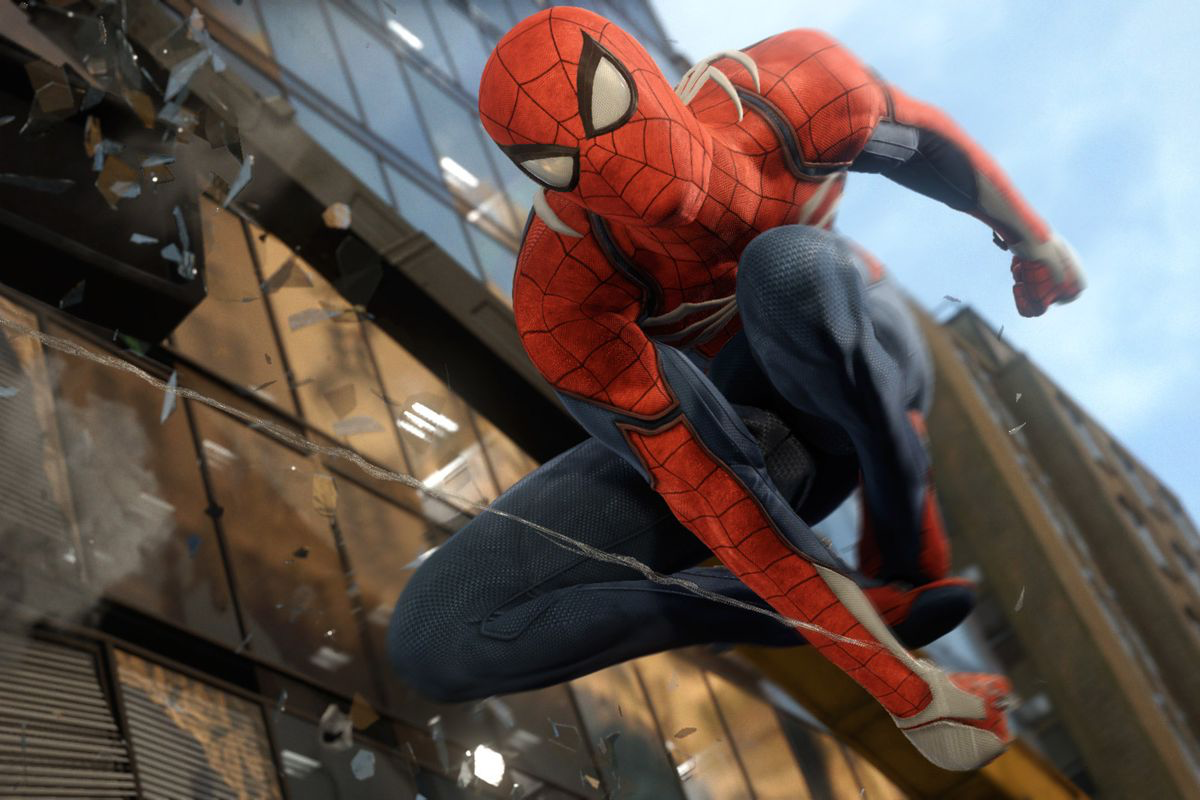 Look out! Here comes the Spider-Man!
