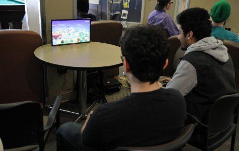 Two Anoka-Ramsey students playing